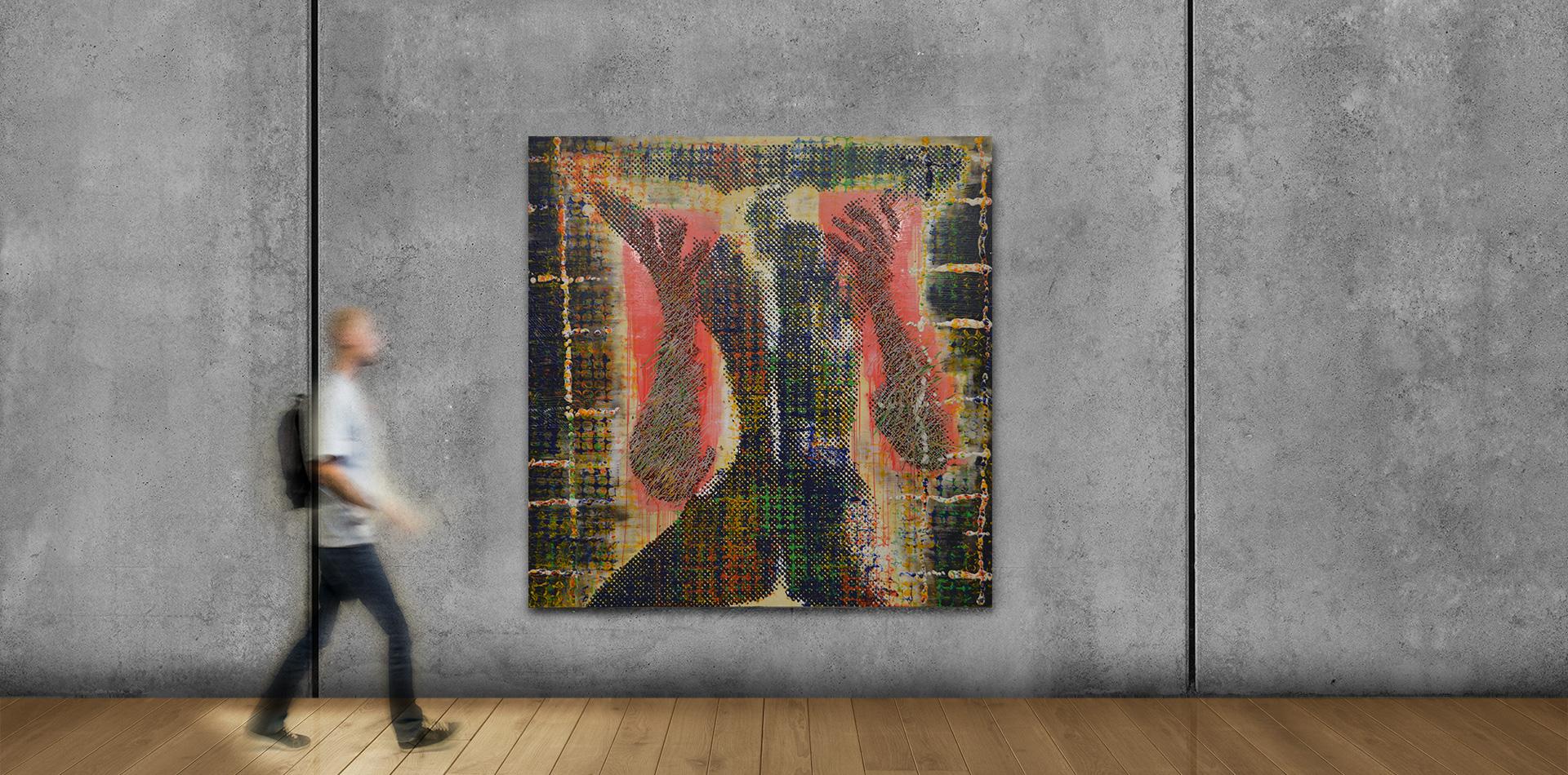 Leidenschaft (200x200cm)